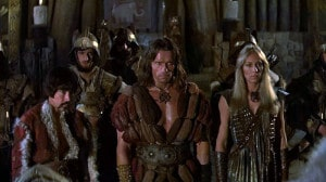 Conan the Barbarian and gang