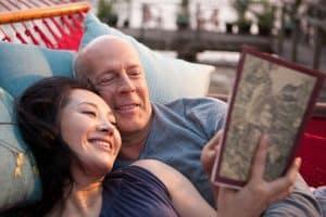 Old Joe and wife