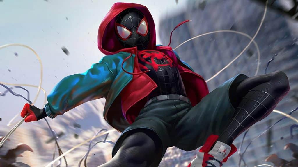MCU phase 5 - Spider-Verse Miles Morales