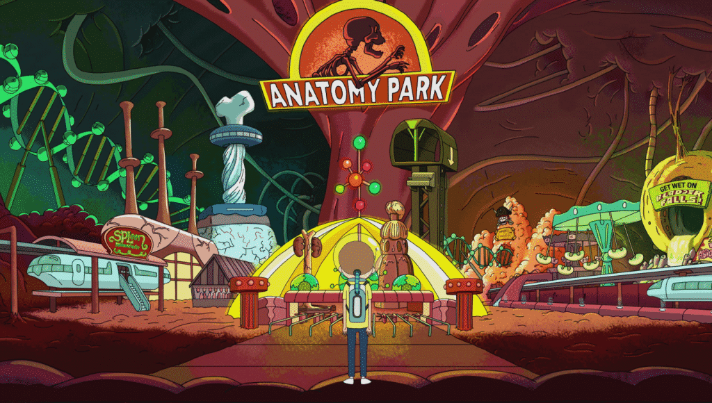 References in Rick and Morty - Anatomy Park