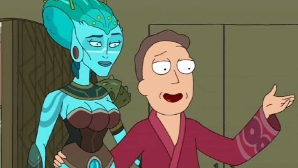 References in Rick and Morty - Avatar