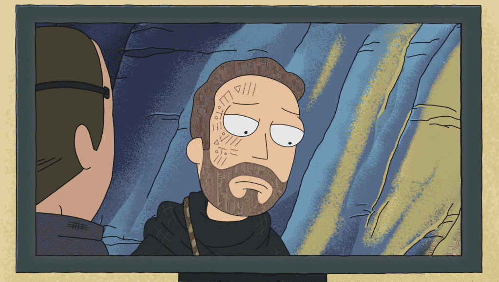 References in Rick and Morty - Cloud Atlas