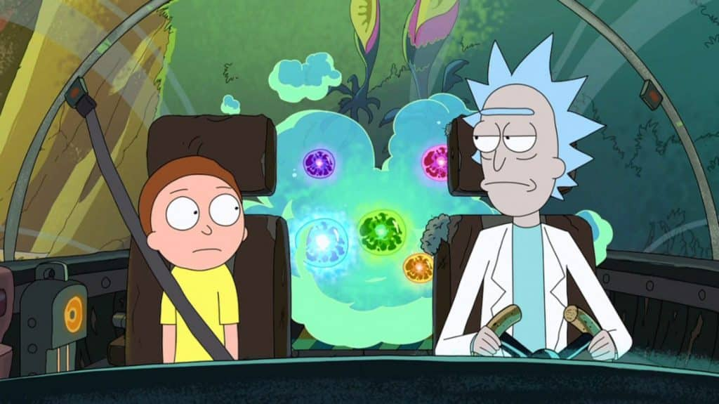 References in Rick and Morty - Fart