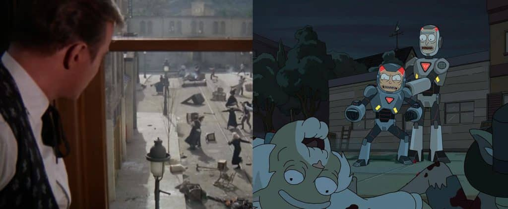 References in Rick and Morty - Festival Purge