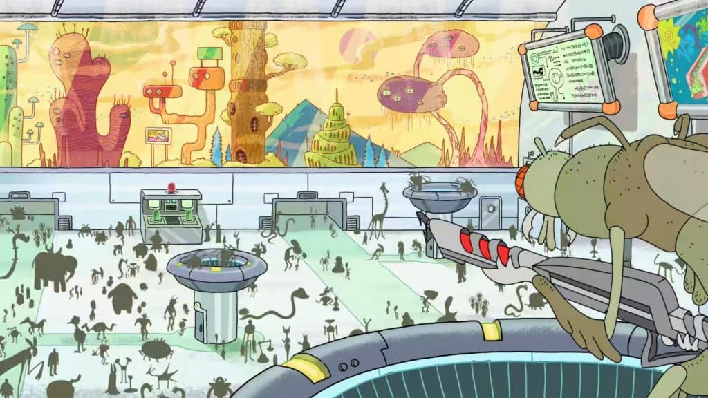 References in Rick and Morty - Mystery Science Theater 3000