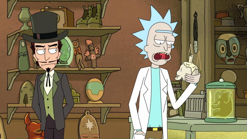 References in Rick and Morty - Needful Things