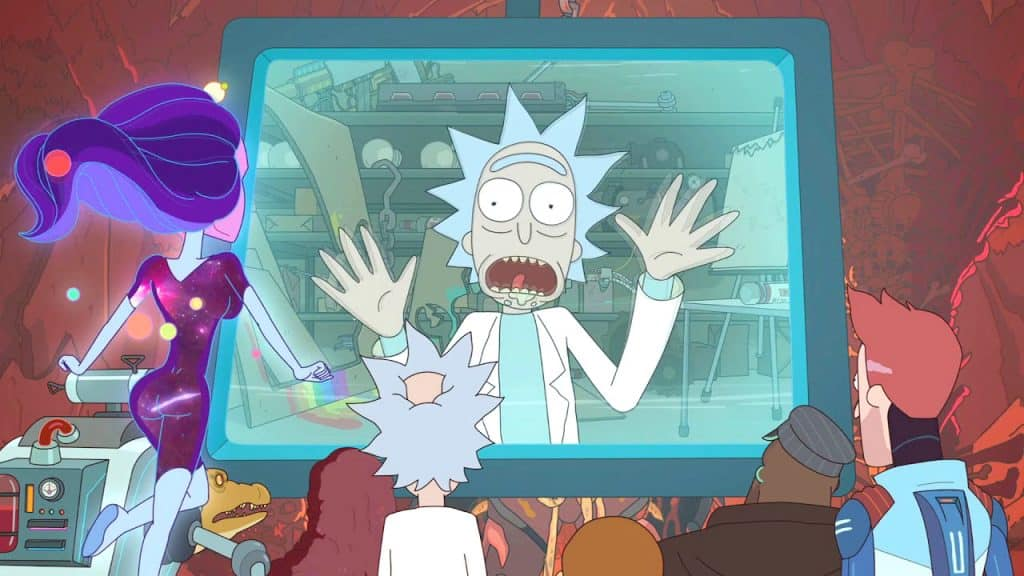 References in Rick and Morty - Saw