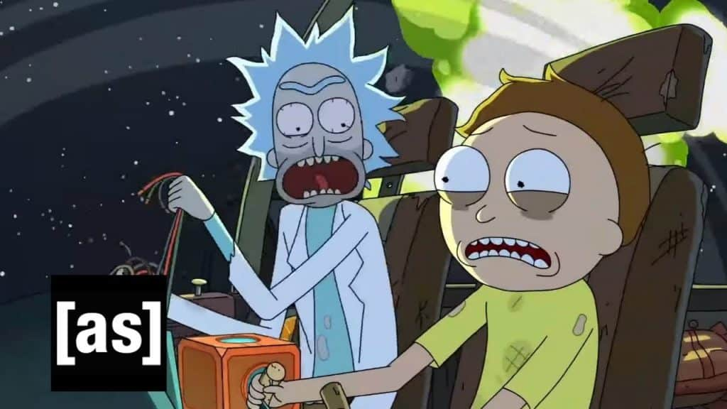 References in Rick and Morty - Star Wars