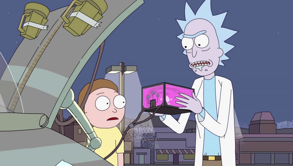 References in Rick and Morty - Thirteenth Floor