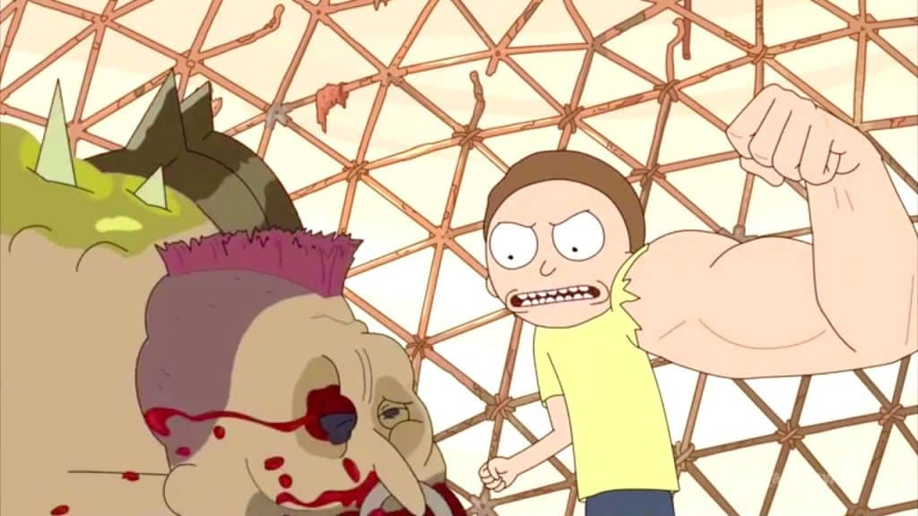 References in Rick and Morty - Thunderdome