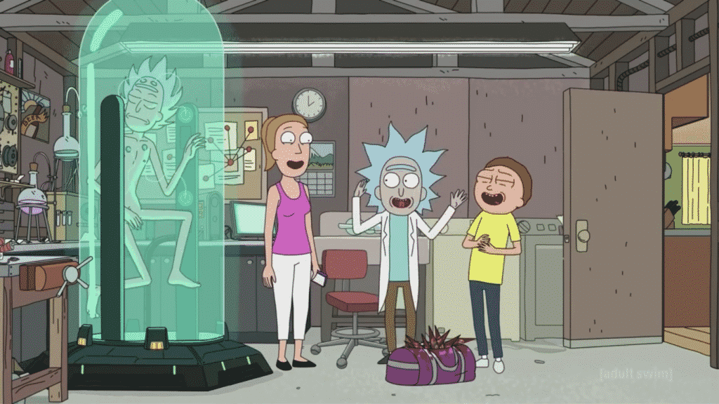 References in Rick and Morty - Tiny Rick