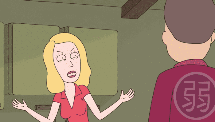 References in Rick and Morty - Weak Robe Jerry