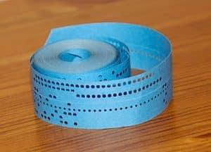 SpaceWar paper tape