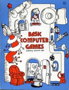 101 basic computer games by david ahl