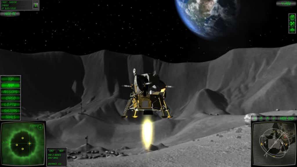 lunar flight Shovsoft 2012