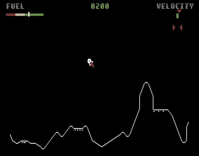 lunar lander atari 1979