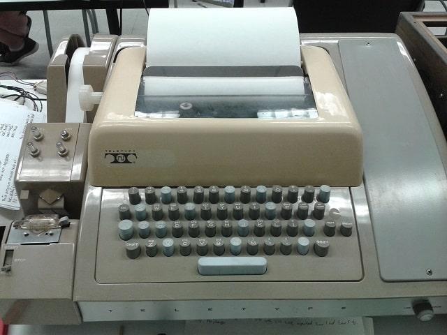 PDP Teletype