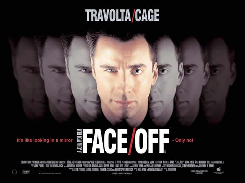 Face/Off movie 1997