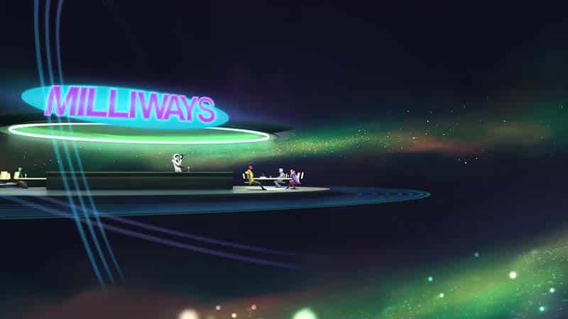 Fictional Locations - Milliways The Restaurant at the End of the Universe - Hitchhiker's Guide to the Galaxy