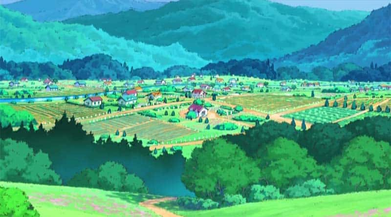 Fictional Locations - Pallet Town - Pokemon