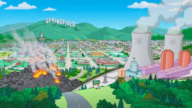Springfield - The Simpsons