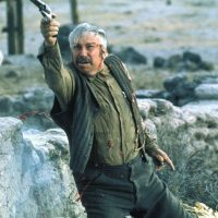 Slim Pickens in final shootout in Pat Garrett and Billy the Kid
