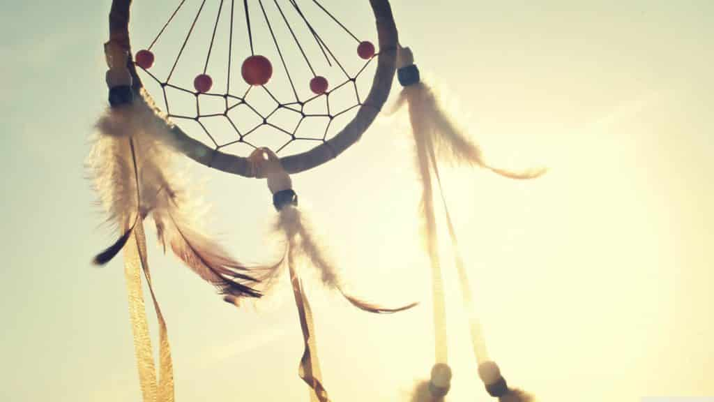 dreams - dream catcher in sunlight