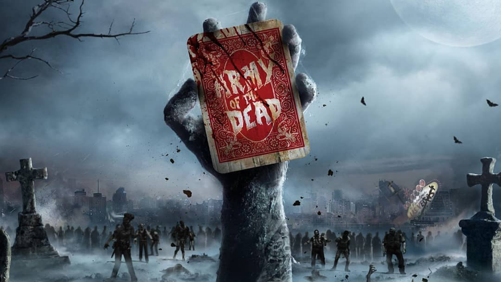 upcoming sci fi movies - army of the dead