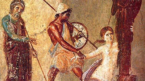 Cassandra and Ajax fresco