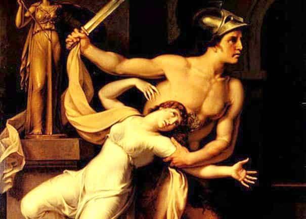 Cassandra's rape at the hands of Ajax