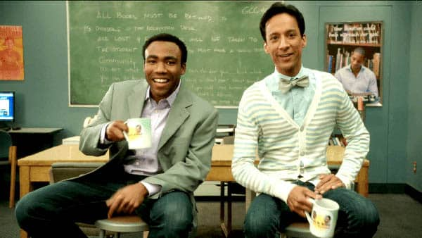 community troy and abed in the morning
