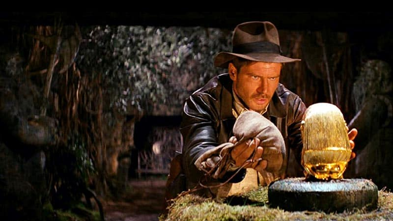 Indiana Jones and the Raiders of the Lost Ark, idol scene