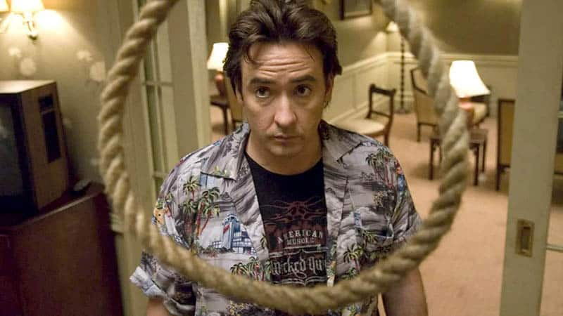 1408, a trapped movie, starring john cusack