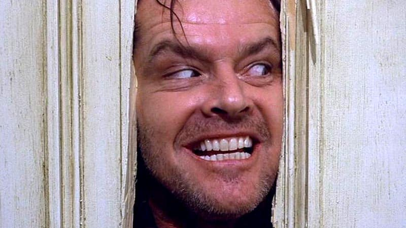 trapped movies the shining jack nicholson hello johnny
