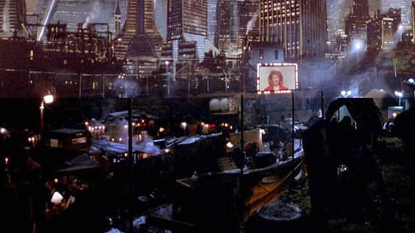 The Running Man depiction of a dystopian future Los Angeles