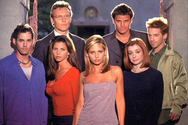 buffy the vampire cast photo