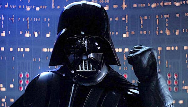 Star Wars: The Empire Strikes Back Darth Vader asks Luke to join the Dark Side