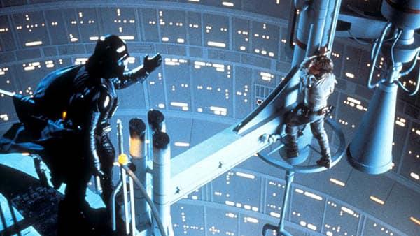 Star Wars: The Empire Strikes Back Darth Vader telling Luke that he is Luke's father Anakin Skywalker
