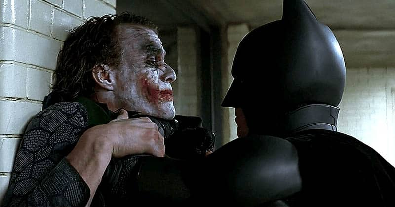 the dark knight joker vs batman