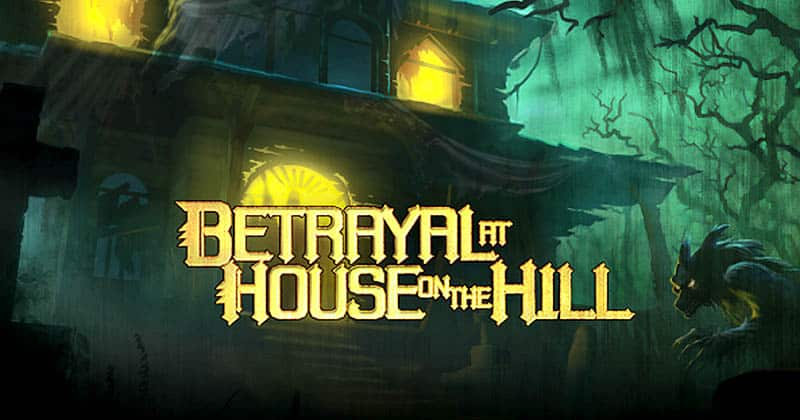 best horror board games - betrayal at house on the hill