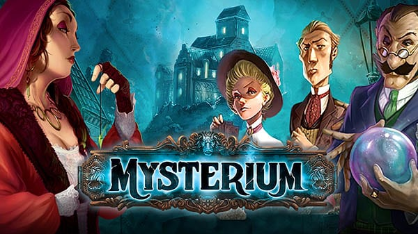 horror themed board games - mysterium