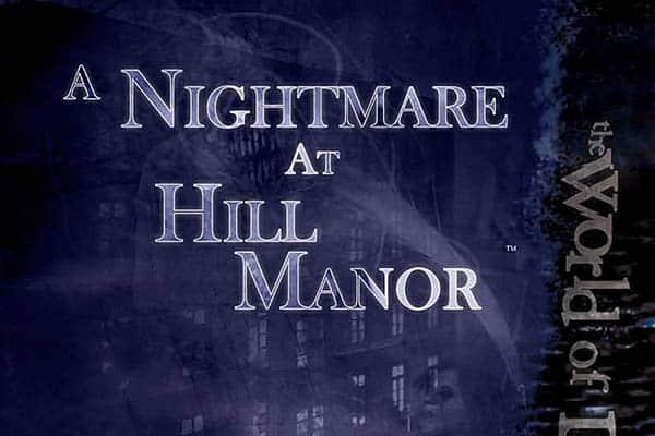 a nightmare at hill manor - ttrpg horror