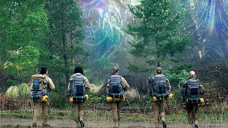 annihilation sci-fi horror films
