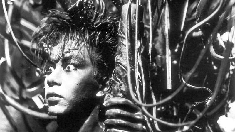 tetsuo the iron man science fiction and horror movie