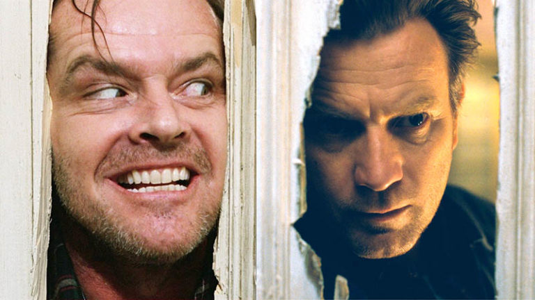 the shining and doctor sleep door scenes