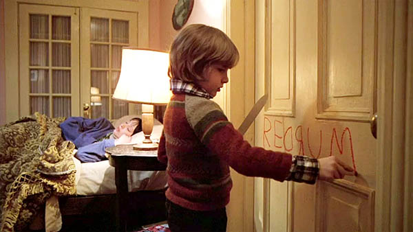 the shining redrum scene