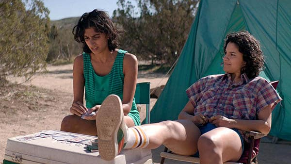 glow tv series camping outward bound