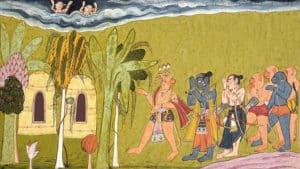 Rama and Lakshmana - Shangri Ramayana - Indian fantasy writers