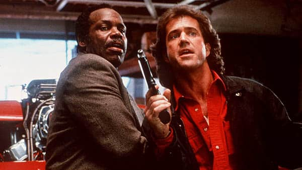 Lethal Weapon - danny glover and mel gibson get ready to rumble - best buddy cop movies ever
