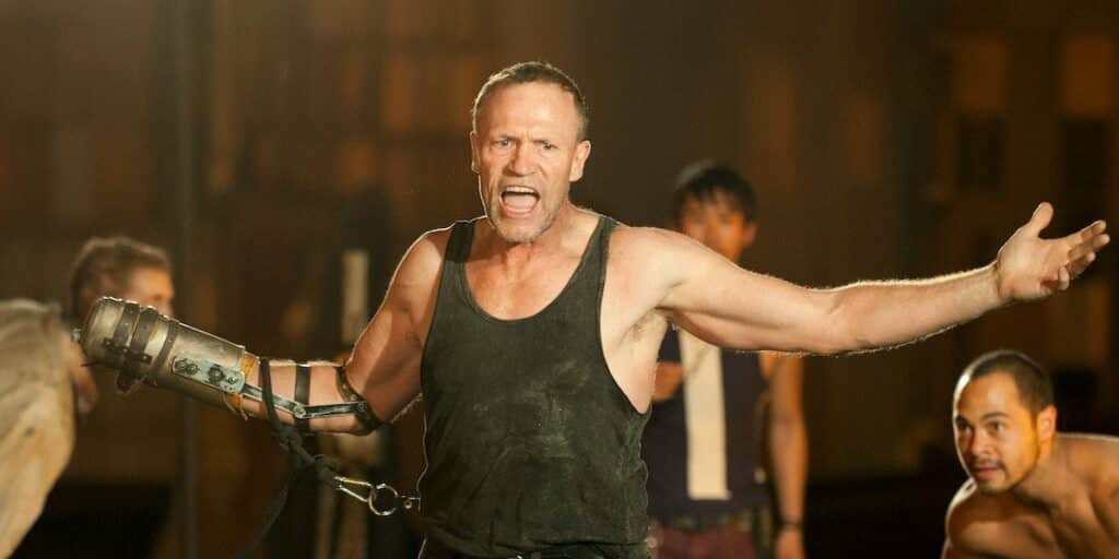 michael rooker fake arm the walking dead sacrifices actors had to make